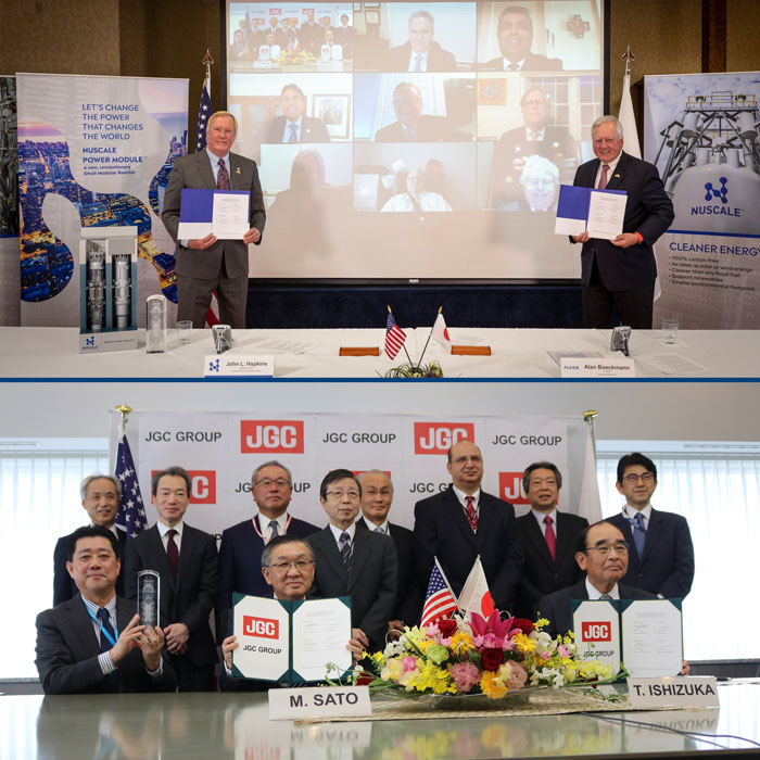 NuScale and JGC Signing Ceremony